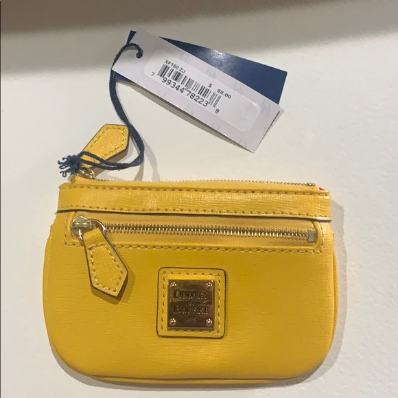 Dooney & Bourke Handbags - Dooney & Bourke Yellow coin purse